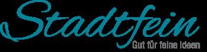 Logo Stadtfein - Gut für feine Ideen